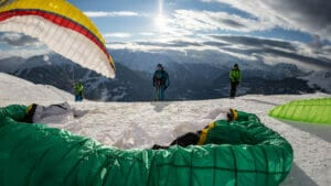 Verbier cross country paragliding clinics