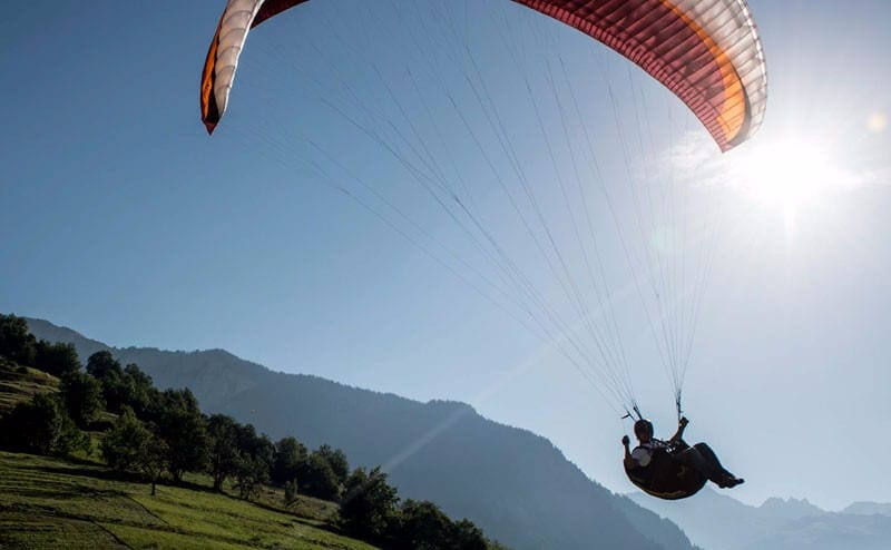 Learning to paraglide Europe