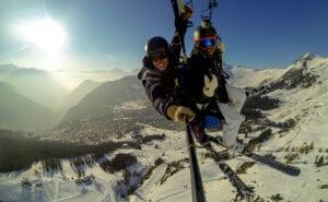 Verbier Tandem Paragliding