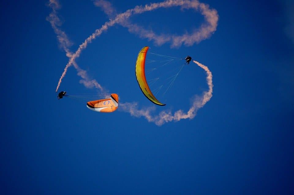 paragliding acro courses