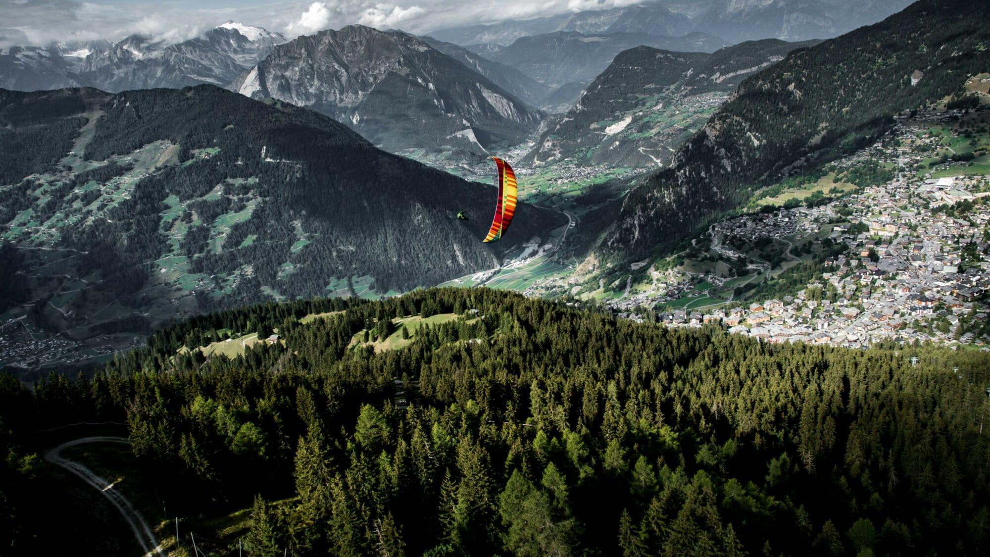 verbier summits paragliding verbier